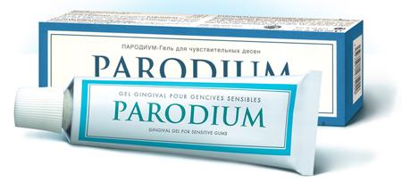 Фото: гель для десен Пародиум
