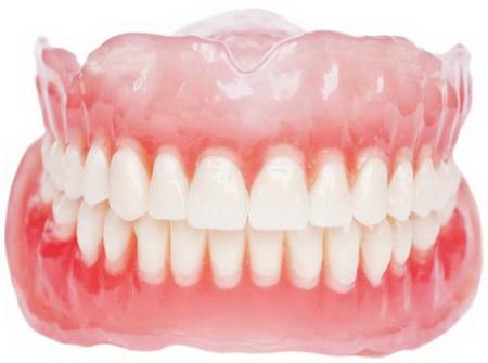Фото: зубные протезы Акри Фри