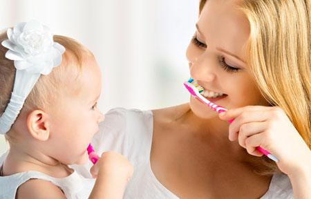 Фото: как правильно чистить зубы