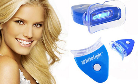 Фото: Отбеливание зубов в домашних условиях с помощью системы White Light