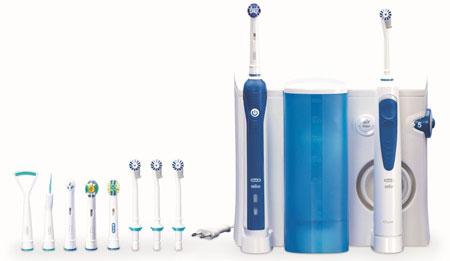 Фото: электрическая зубная щетка Oral B
