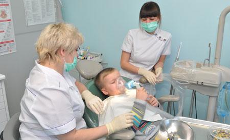Фото: лечение зубов детям под общим наркозом