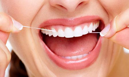 Фото: зубная нить