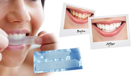 Фото: полоски Крест для отбеливания зубов