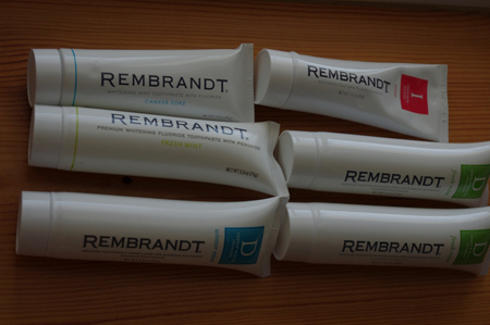 Фото: зубная паста Rembrandt