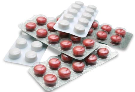Фото: таблетки от острой зубной боли