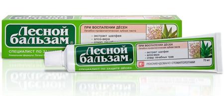 Фото: зубная паста Лесной Бальзам