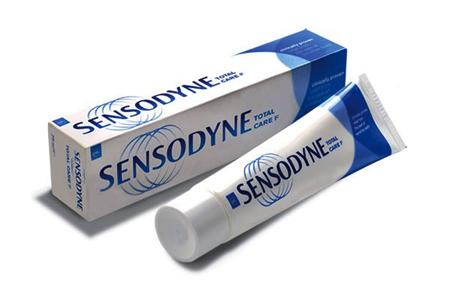 Фото: зубная паста Sensodyne