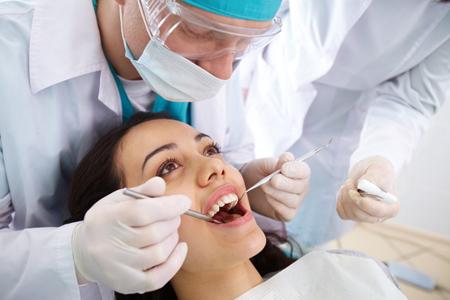 Фото: консультация у стоматолога