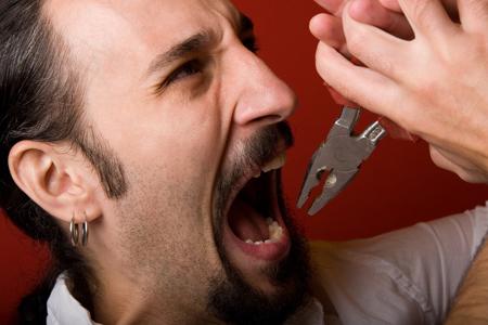 Фото: как вырвать зуб в домашних условиях