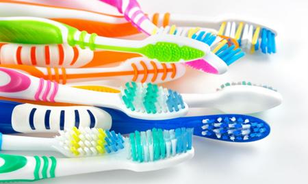 Фото: зубные щетки
