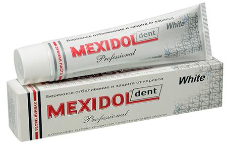 Фото: зубная паста Mexidol Dent Professional White